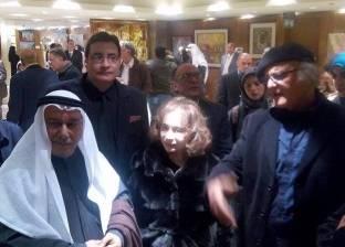سفير الكويت بالقاهرة يفتتح معرض «الكويت بعيون مصرية ومصر بعيون كويتية»