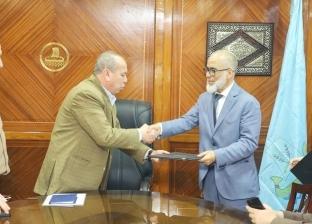 محافظ كفر الشيخ يسلم عقد إقامة مدرسة دولية باستثمارات 300 مليون جنيه