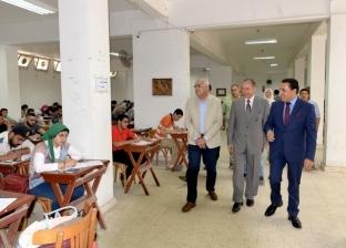 بالصور| رئيس جامعة المنصورة: ضبط 73 حالة غش في امتحانات نهاية العام