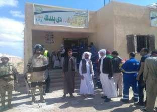 أبناء «الجارة» يقطعون 240 كم للتصويت: 250 مواطناً قالوا «نعم» للدولة المصرية
