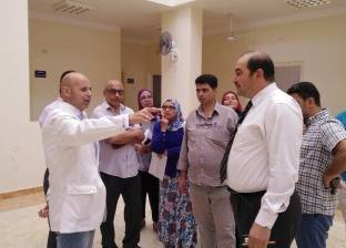 """وكيل """"صحة الشرقية"""" يزور مراكز طب الأسرة بالعاشر من رمضان"""