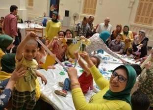 ورش عمل لمكتبة الإسكندرية بالمستشفيات لدعم المرضى من الأطفال