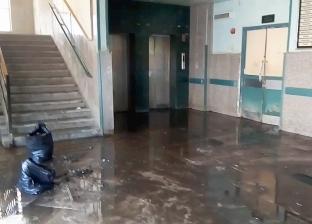 السيطرة على حريق محدود في وحدة صحية ببني سويف