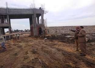بناء غرفة التحكم بالغاز الطبيعي لمصنع الرمال السوداء ببلطيم