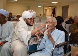 إنشاد دينى فى مستشفى السرطان بالأقصر للتخفيف عن المرضى
