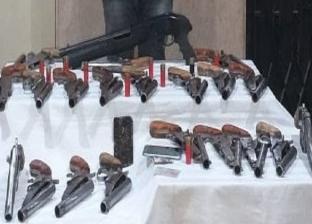 ضبط 4 قطع سلاح غير مرخصة في حملة أمنية بأسيوط