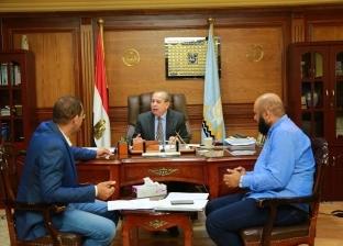 بالصور| محافظ كفر الشيخ يبحث مشاكل المواطنين مع بعض البرلمانيين