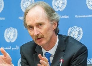 """""""المعلم"""" يؤكد لـ""""بيدرسون"""" استعداد سوريا للتعاون والتوصل لتسوية سياسية"""