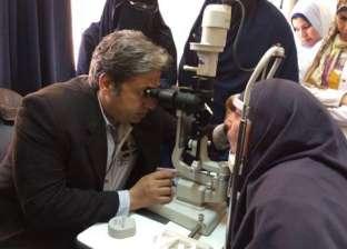 قافلة طبية لإجراء فحوصات على العيون في طور سيناء