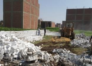 محافظ الجيزة: استمرار إزالة مخلفات البناء للقضاء على الظاهرة تماما