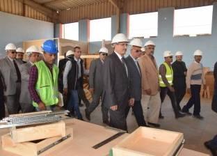 """محافظ بني سويف يلتقي وفد """"المقاولون العرب"""" لبحث تنفيذ المشروعات"""