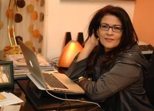 """فاطمة ناعوت تتعلم كتابة السيناريو على يد مدحت العدل بأكاديمية """"دهب"""""""