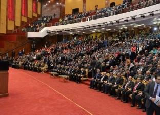 رئيس جامعة المنصورة يشارك في افتتاح أسبوع شباب الجامعات بكفر الشيخ
