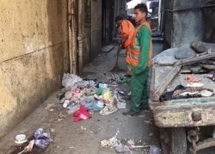 سحب مياه الصرف الصحي بمساكن عزيز عزت شمال الجيزة