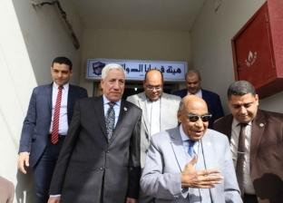 """رئيس """"قضايا الدولة"""" يفتتح مقرا جديدا للهيئة في سوهاج"""