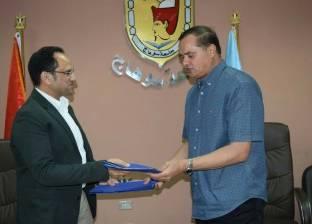 بروتوكول تعاون بين جامعة سوهاج وشركة النصر للمباني والإنشاءات