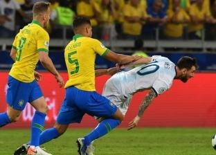 """""""السوبر كلاسيكو"""".. ميسي أساسيا مع الأرجنتين وفيرمينو يقود هجوم البرازيل"""
