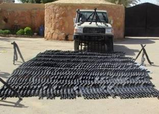 المتحدث العسكري: ضبط كمية من الأسلحة والذخائر في شمال سيناء