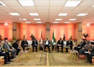 محافظ الشرقية يستقبل وفدا من مركز المعلومات بمجلس الوزراء
