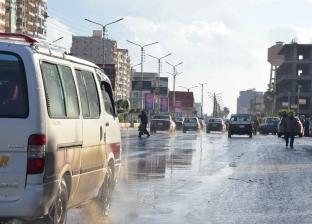 أمطار غزيرة ورياح بالقليوبية والمحافظة تحذر المسافرين على الطرق