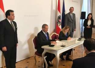 """عبد الغفار يشهد توقيع عقد شراكة بين جامعتي """"فيينا الطبية"""" و""""طب النهضة"""""""