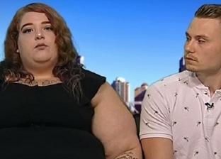 قصة حب فريدة من نوعها.. أسترالية تكتسب 76 كيلوجراما إرضاء لحبيبها