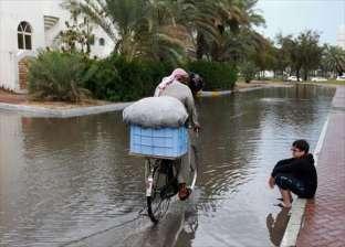 أمطار غزيرة على الغربية.. والمحافظ يطالب بسرعة شفط المياه