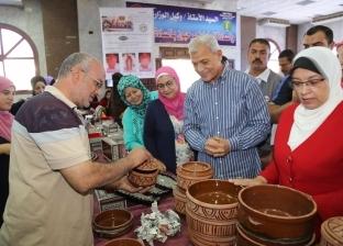محافظ المنوفية يفتتح معرض الأسر المنتجة للجمعيات الأهلية بشبين الكوم
