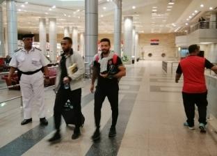 وصول بعثة الأهلي إلى مطار القاهرة قادمة من الجزائر