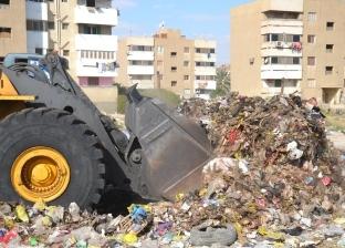 """""""مستقبل وطن"""" بالسويس يرفع المخلفات بمنطقة السادات بحي الأربعين"""