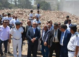 """نقل 546 أسرة من """"أكشاك أبو السعود"""" لـ""""الأسمرات 3"""".. وهدم 274 عقارا"""