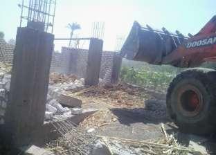 الري: إزالة 274 حالة تعدي على نهر النيل و الشرقية الأعلي إزالات