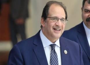 الرئيس الفلسطيني يستقبل رئيس جهاز المخابرات  العامة المصري برام الله