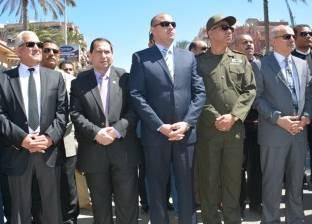 رئيس جامعة بورسعيد يشارك في الجنازة العسكرية لشهيد سيناء