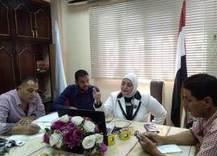 وكيل تعليم كفر الشيخ تتابع سير امتحانات الدور الثاني للثانوية العامة