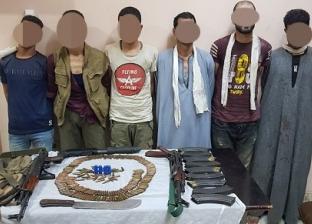 حبس 9 متهمين في الاستيلاء على أراضي الدولة والبلطجة بالعياط