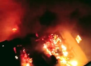 إصابة 4 من رجال الإطفاء خلال إخماد حريق بمصنع في أكتوبر: استمر ساعتين