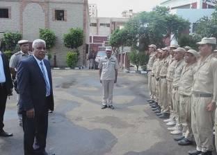 مدير أمن كفر الشيخ يتفقد المنشآت الشرطية ويوجه باليقظة