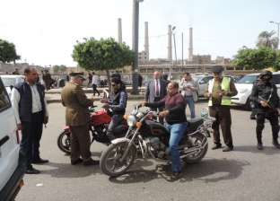 مدير أمن القليوبية يقود حمله أمنية ويشدد على ضبط العناصر الإجرامية