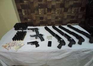 ضبط 8 أسلحة نارية دون ترخيص خلال حملة أمنية في الإسكندرية