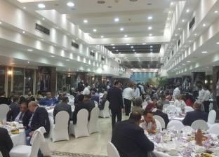 بالصور| نادي القضاة ينظم حفل إفطار جماعي