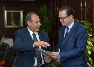 محافظ الإسكندرية يستقبل السفير الفرنسي بمصر
