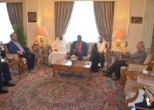 رئيس البرلمان العربي يجتمع مع أبوالغيط لمناقشة مستجدات الأوضاع