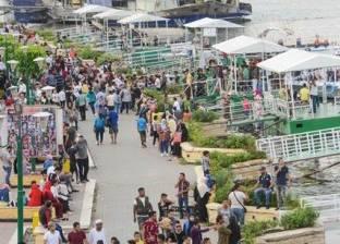 احتفالات المصريين في ثاني أيام العيد