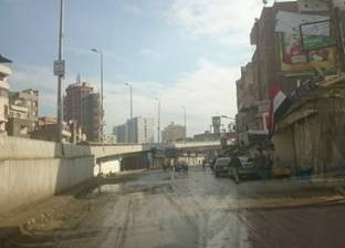 بالصور| البرك تغزو شوارع الغربية بسبب الأمطار الغزيرة