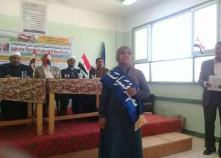 """معهد """"فتيات الدكة"""" بأسوان يشارك في فعاليات الحس الوطني والانتماء"""