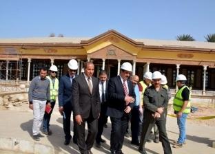 محافظ القليوبية يتفقد مشروع ترميم قصر محمد علي باشا في شبرا الخيمة