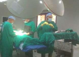 إجراء 3 عمليات بمستشفى دهب المركزي ضمن قافلة جامعة قناة السويس