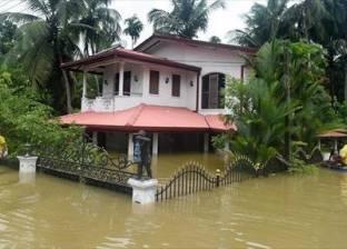 بالصور | الأمطار الموسمية في سريلانكا تشرد 130 ألف مواطن