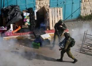 إصابة 15 فلسطينيا برصاص قوات الاحتلال في مخيم الجلزون شمال رام الله